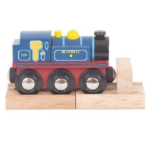 Bigjigs Bluebell tank engine wooden railway fits Brio - The Vale of Rheidol Railway