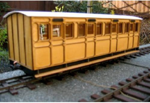 4 compartment coach kit Ip engineering freelance 32mm 45mm garden railway sm32 - The Vale of Rheidol Railway
