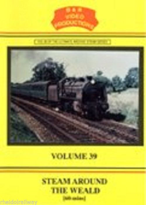Beachy Head, Golden Arrow, Southern Railway, Steam Around the Weald, B&R Vol 39 DVD - The Vale of Rheidol Railway