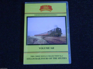 Weymouth Quay, Steam Railtours Of THe Sixties, B & R Volume 168 DVD