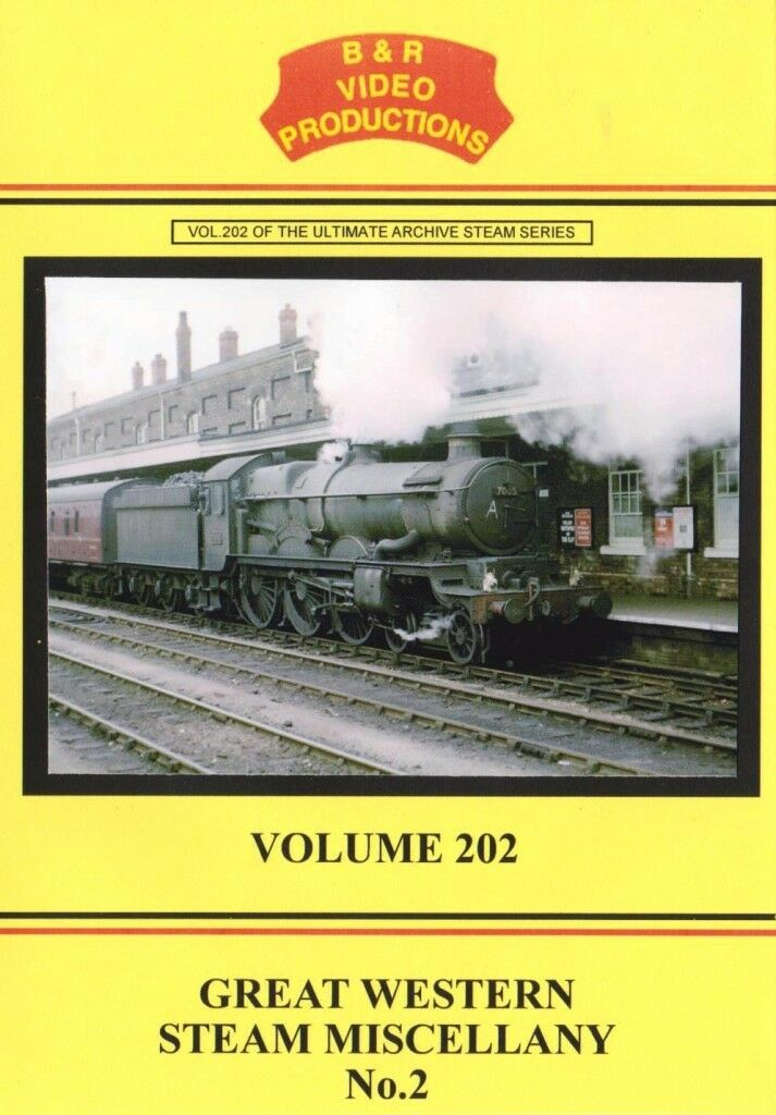 Great Western Steam Miscellany 2 B&R DVD 202 Oxford Exmouth Swansea Three Cocks - The Vale of Rheidol Railway