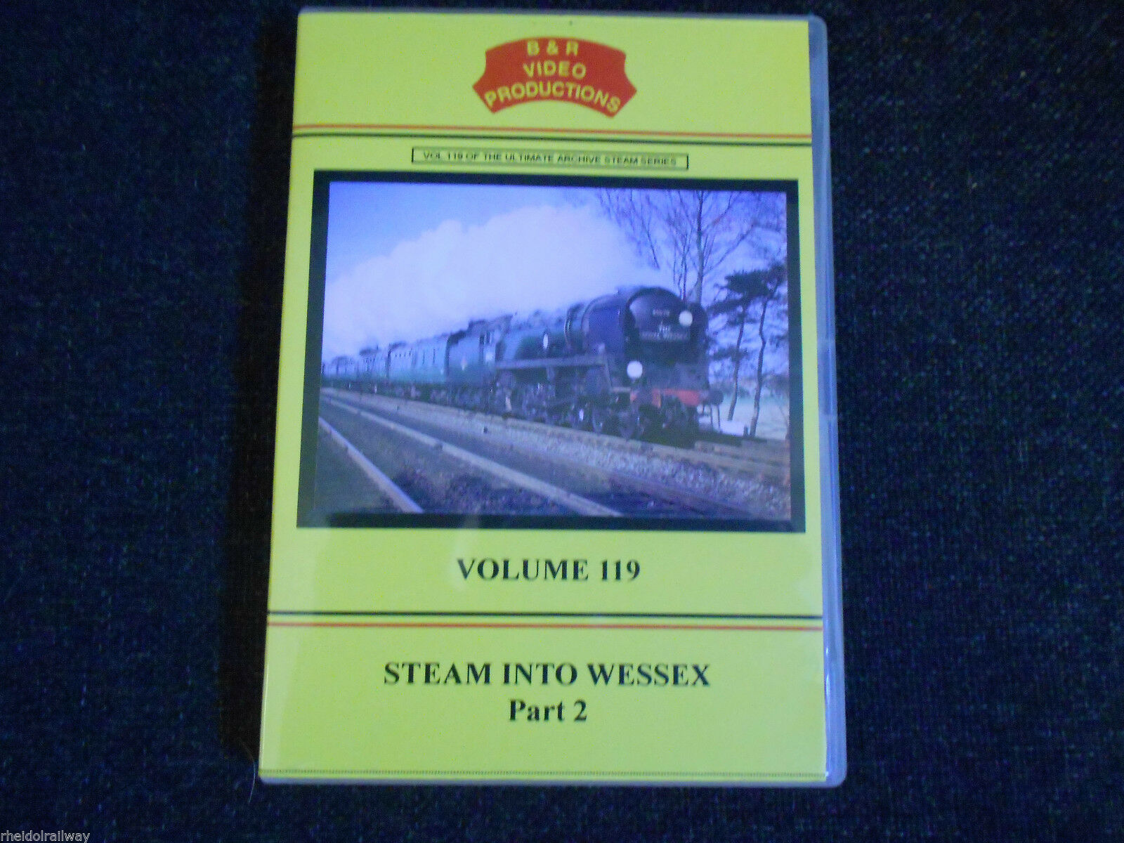 Waterloo, Weymouth, Templecombe, Bath, Steam Into Wessex Pt 2 B&R Vol 119 DVD - The Vale of Rheidol Railway