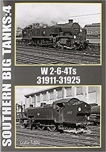 Southern railway big tanks 4 W 4-6-2Ts  31911 to 31925 Exeter London Winchester - The Vale of Rheidol Railway