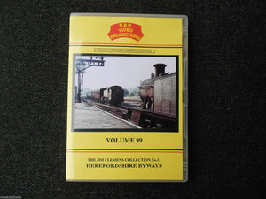Leominster,Hereford,Ross,Pretseigne,Herefordshire Byways Vol.99 B&R railway DVD - The Vale of Rheidol Railway