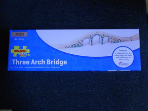 Wooden train, BigJigs, Three Arch Bridge, fits Brio