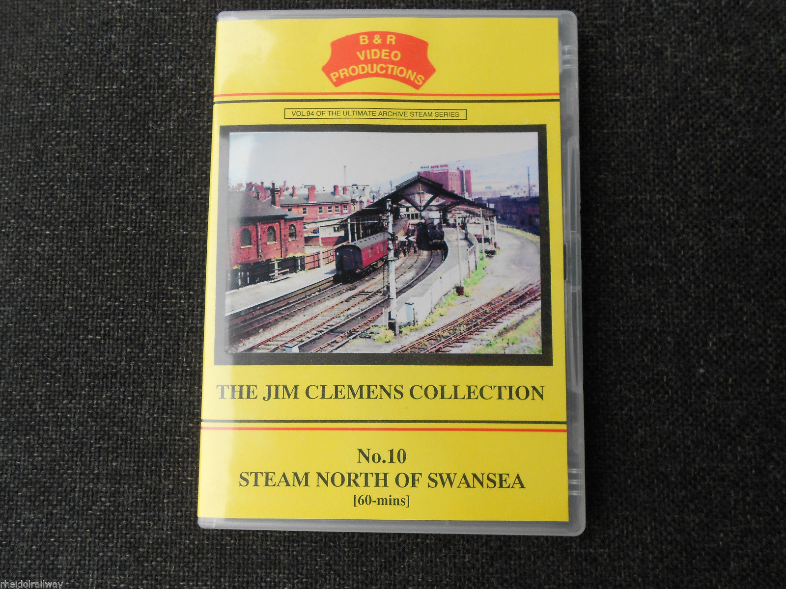 Carmarthen, Aberayron, Aberystwyth, Steam North Of Swansea B&R Vol 94 DVD - The Vale of Rheidol Railway