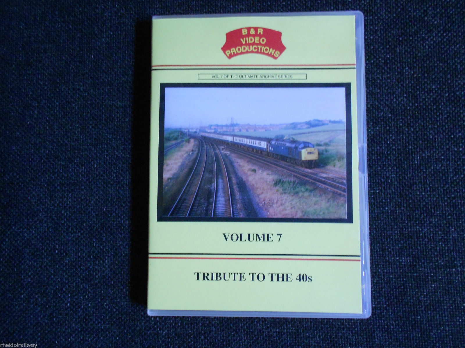English Electric, Type 4, Trubute To The 40s, B & R Volume 7 DVD