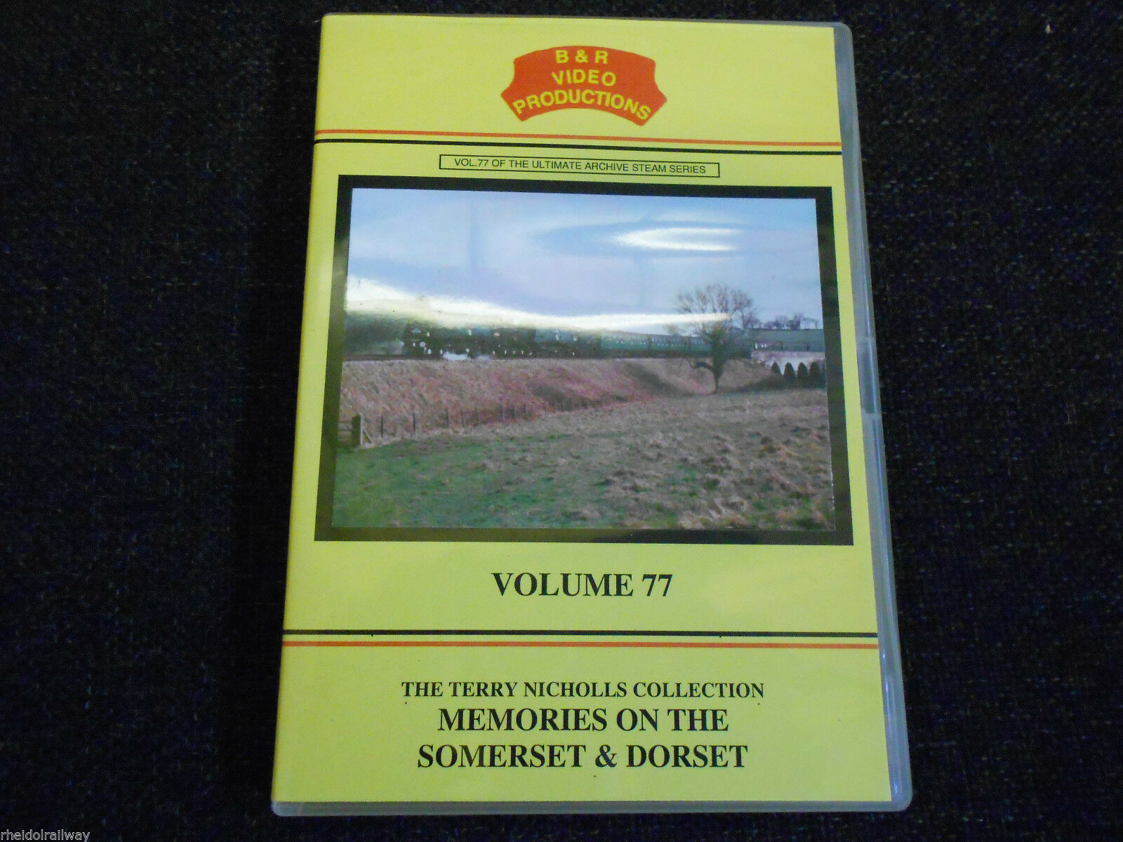 Bristol, Bath, Evercreech, Memories On The Somerset & Dorset, B&R Vol 77 DVD - The Vale of Rheidol Railway