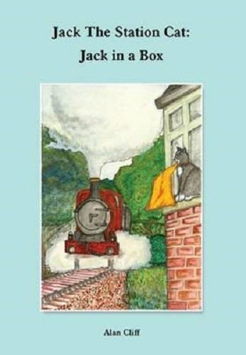 Jack the Station Cat Jack in a box - The Vale of Rheidol Railway