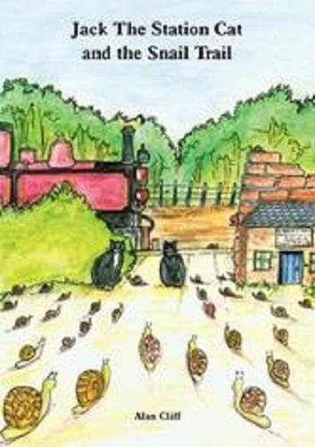 Jack the Station Cat and the Snail Trail - The Vale of Rheidol Railway