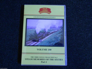 Carlisle, Bolton, Steam Memories Of The Sixties Part 2, B & R Vol 180 DVD - The Vale of Rheidol Railway
