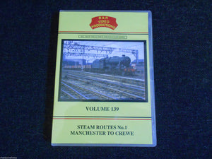 Stockport, Edgeley, Steam Routes No.1, Manchester To Crewe B&R Vol 139 DVD