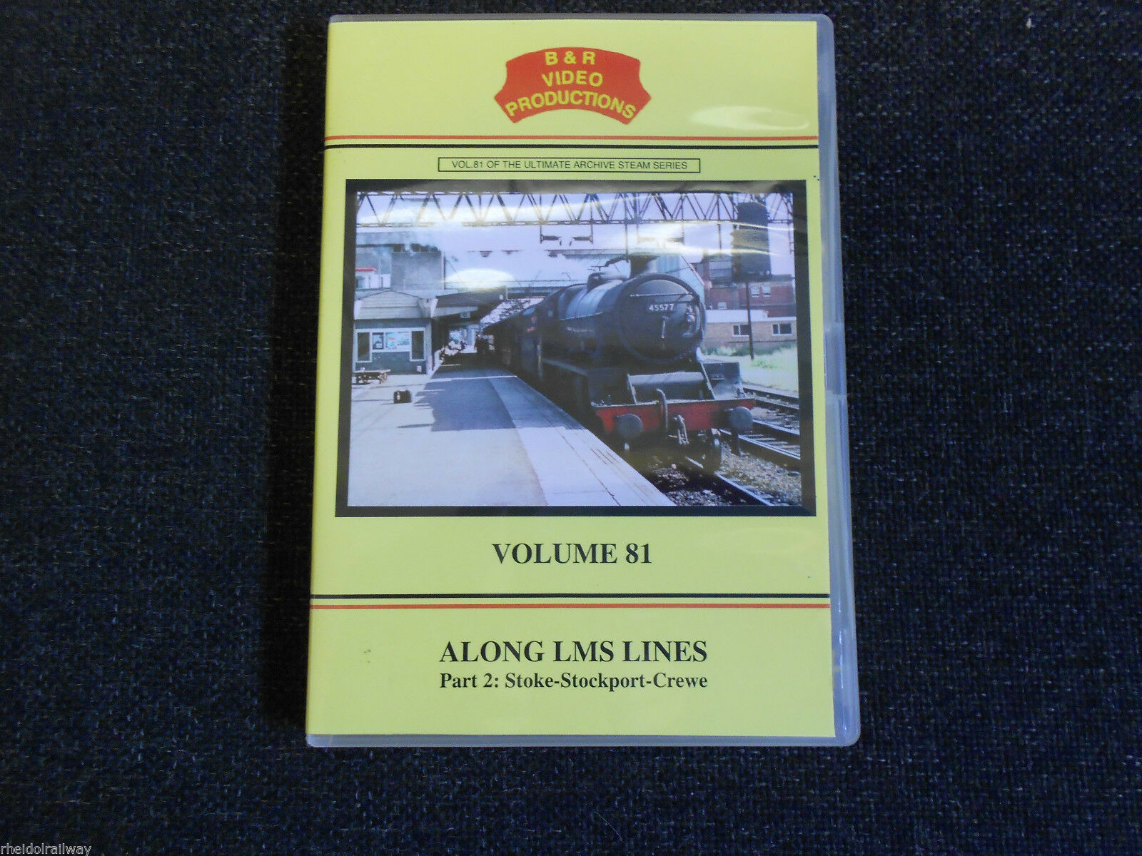 Stoke, Stockport, Crewe, Edgeley, Caldon, Along LMS Lines B&R Vol 81 DVD - The Vale of Rheidol Railway