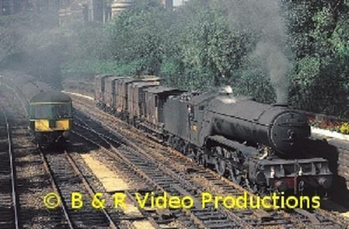 Scottish Railways Remembered Part 6 (60-mins)	b&r dvd 187 port road waverley