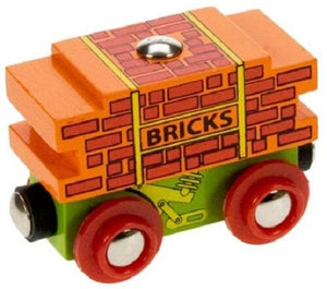 wooden train,Bigjigs,Bricks wagon,fits Brio - The Vale of Rheidol Railway