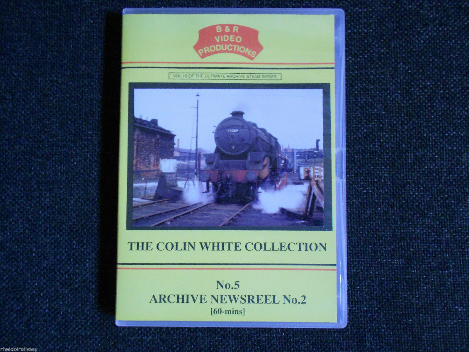 Waterloo, WD Gordon, Carnforth, No. 5 Archive Newsreel No.2, B & R Volume 15 DVD - The Vale of Rheidol Railway