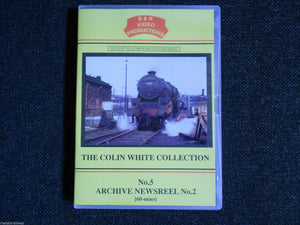 Waterloo, WD Gordon, Carnforth, No. 5 Archive Newsreel No.2, B & R Volume 15 DVD