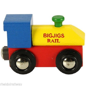 BigJigs Rail Name Engine - The Vale of Rheidol Railway