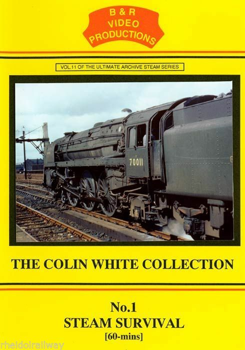 Shap, Nine elms, Corby, Dillicar, Clapham, Steam Survival B&R Vol 11 DVD