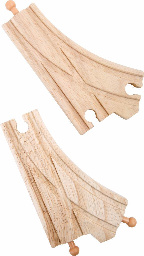 wooden train railway points small foot legler fits Brio Bigjigs - The Vale of Rheidol Railway