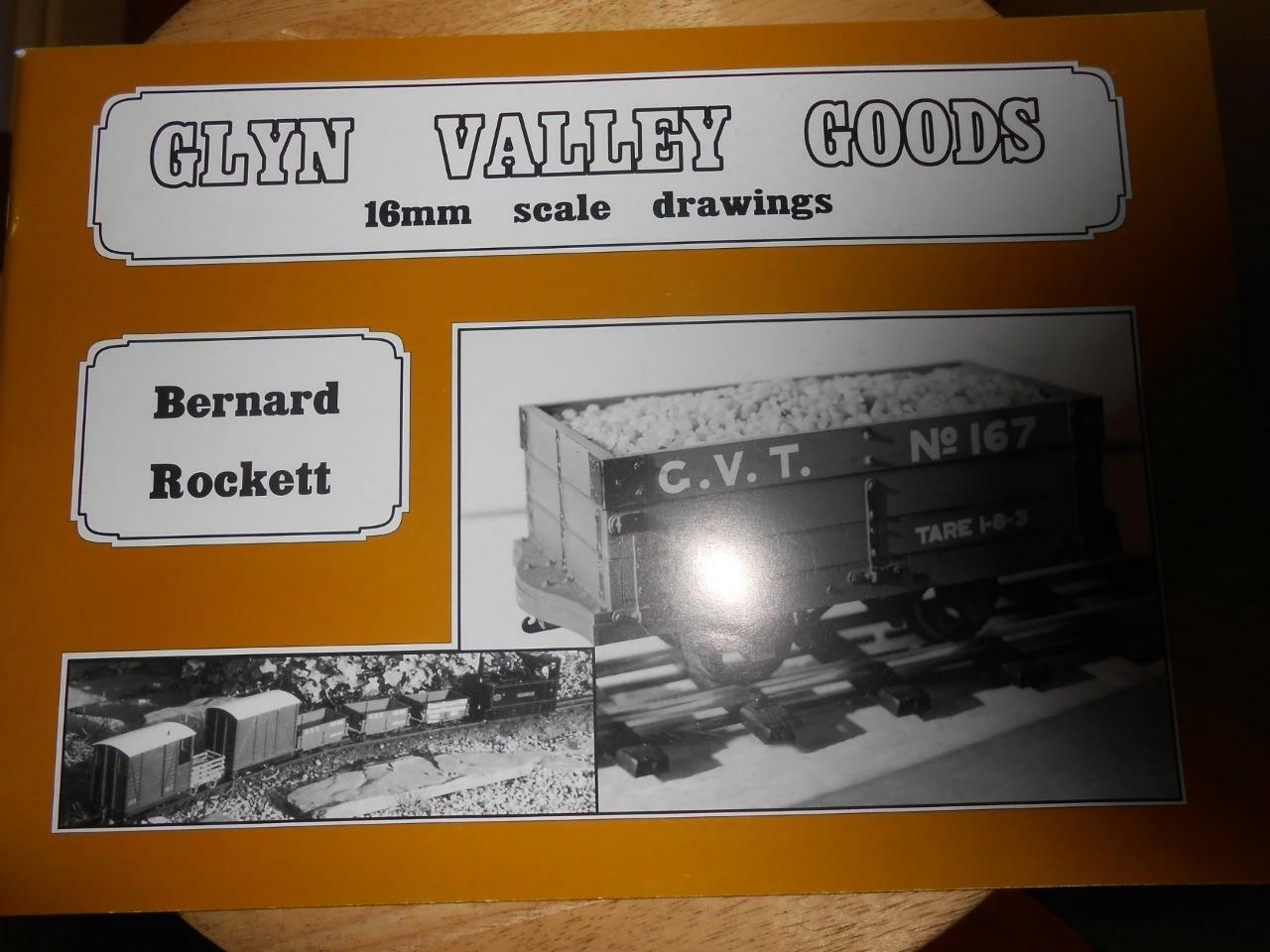 Glyn Valley Goods A Definititive scale 16mm drawings garden railway theodore - The Vale of Rheidol Railway