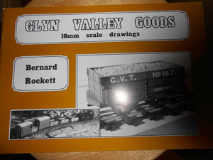 Glyn Valley Goods A Definititive scale 16mm drawings garden railway theodore