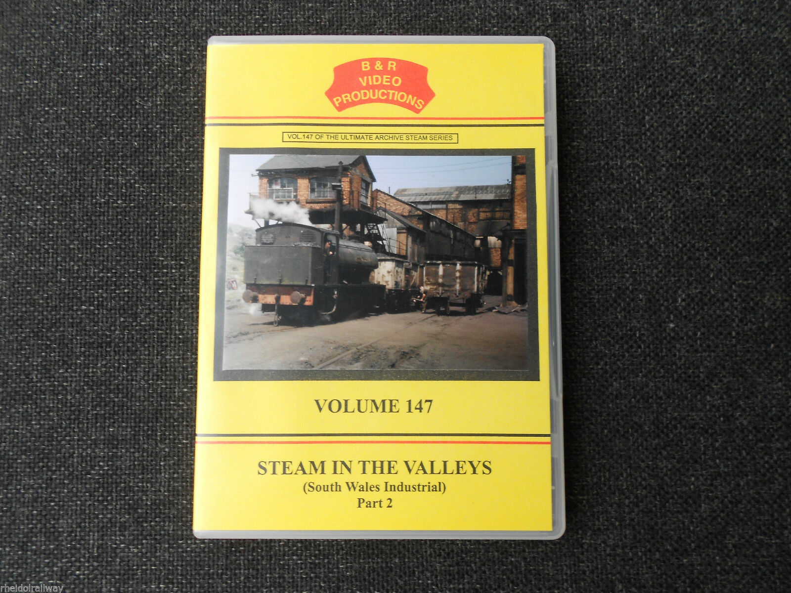 Maerdy, Tredegar, Blaenavon, Steam In The Valleys Part 2 B&R Vol 147 DVD