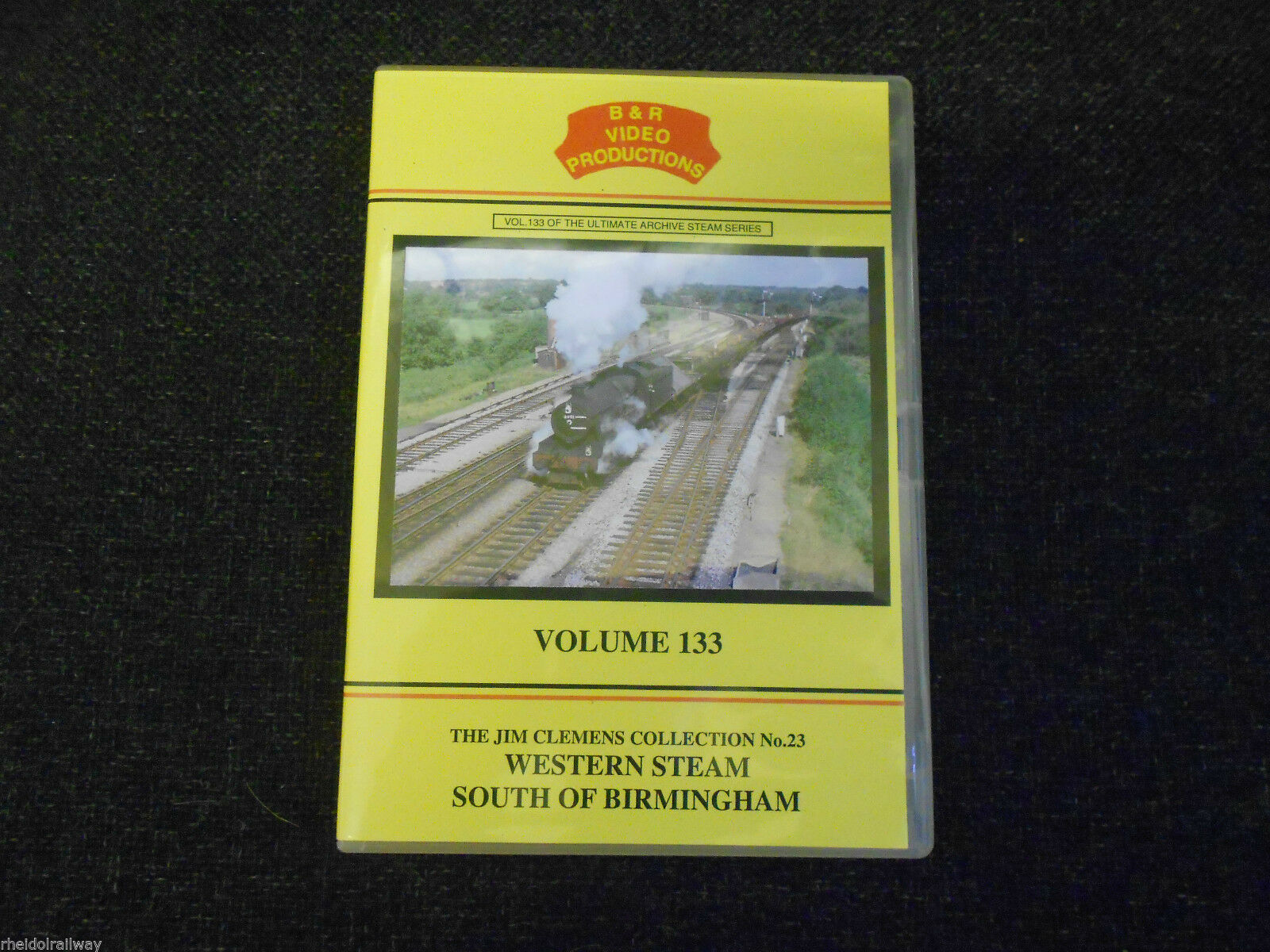 Wolverhampton, Leamington, Western Steam South Of Birmingham B&R Vol 133 DVD