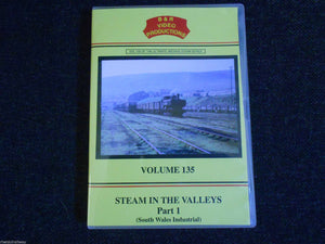 Woodhams, Steam In The Valleys Part 1, South Wales Industrial B&R Vol 135 DVD - The Vale of Rheidol Railway
