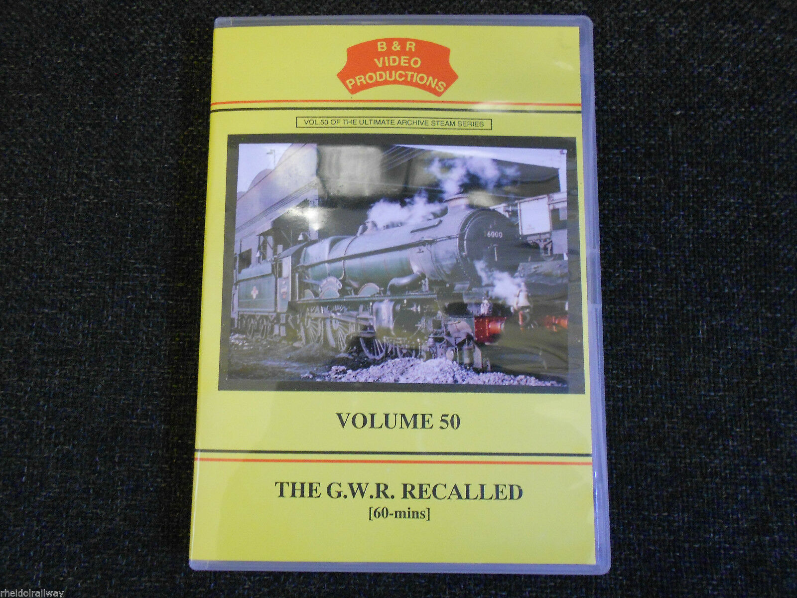 Paddington, Reading, Fishguard, Southall, The GWR Recalled B&R Vol 50 DVD - The Vale of Rheidol Railway