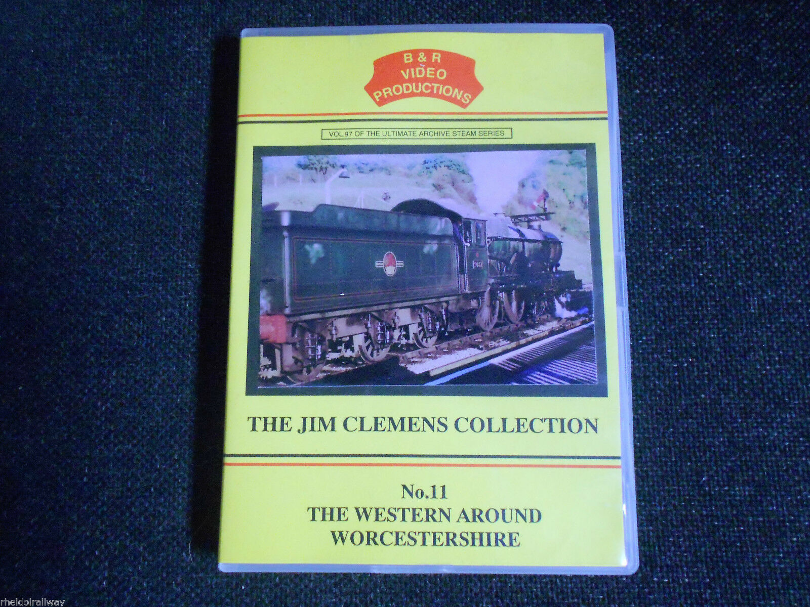Hereford, Worcester, Campden, The Western around Worcestershire, B&R Vol 97 DVD