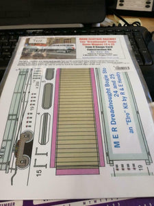 Manx MER dreadnought stone wagons 24 25 T69 Alphagraphix 7mm card kit - The Vale of Rheidol Railway