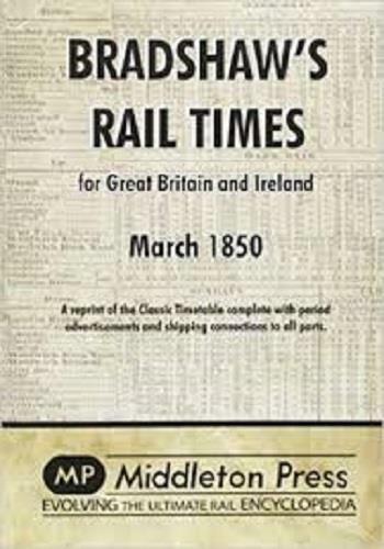 Bradshaw Rail Times 1850 - The Vale of Rheidol Railway