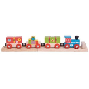 Bigjigs wooden train airport express train fits Brio