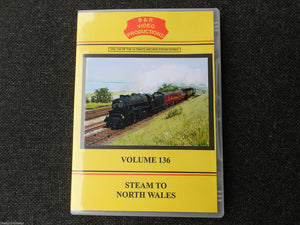 Crewe,Holyhead,Chester,Bangor,Birkenhead, Steam to North Wales  Vol.136 DVD B&R