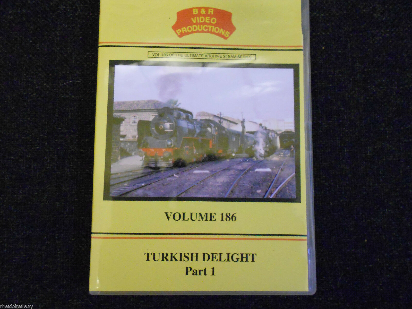 Turkish Delight, Part 1, B & R Volume 186 DVD Izmir Zonguldak Sivas konya - The Vale of Rheidol Railway