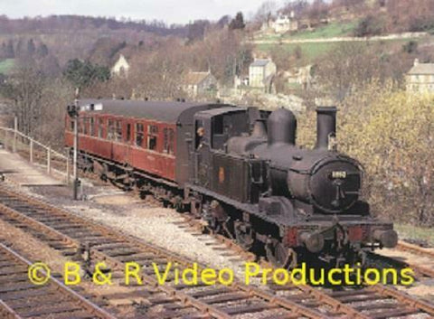 B&R DVD 221 Great Western steam Miscellany part 5 Oxford Worcester Didcot - The Vale of Rheidol Railway