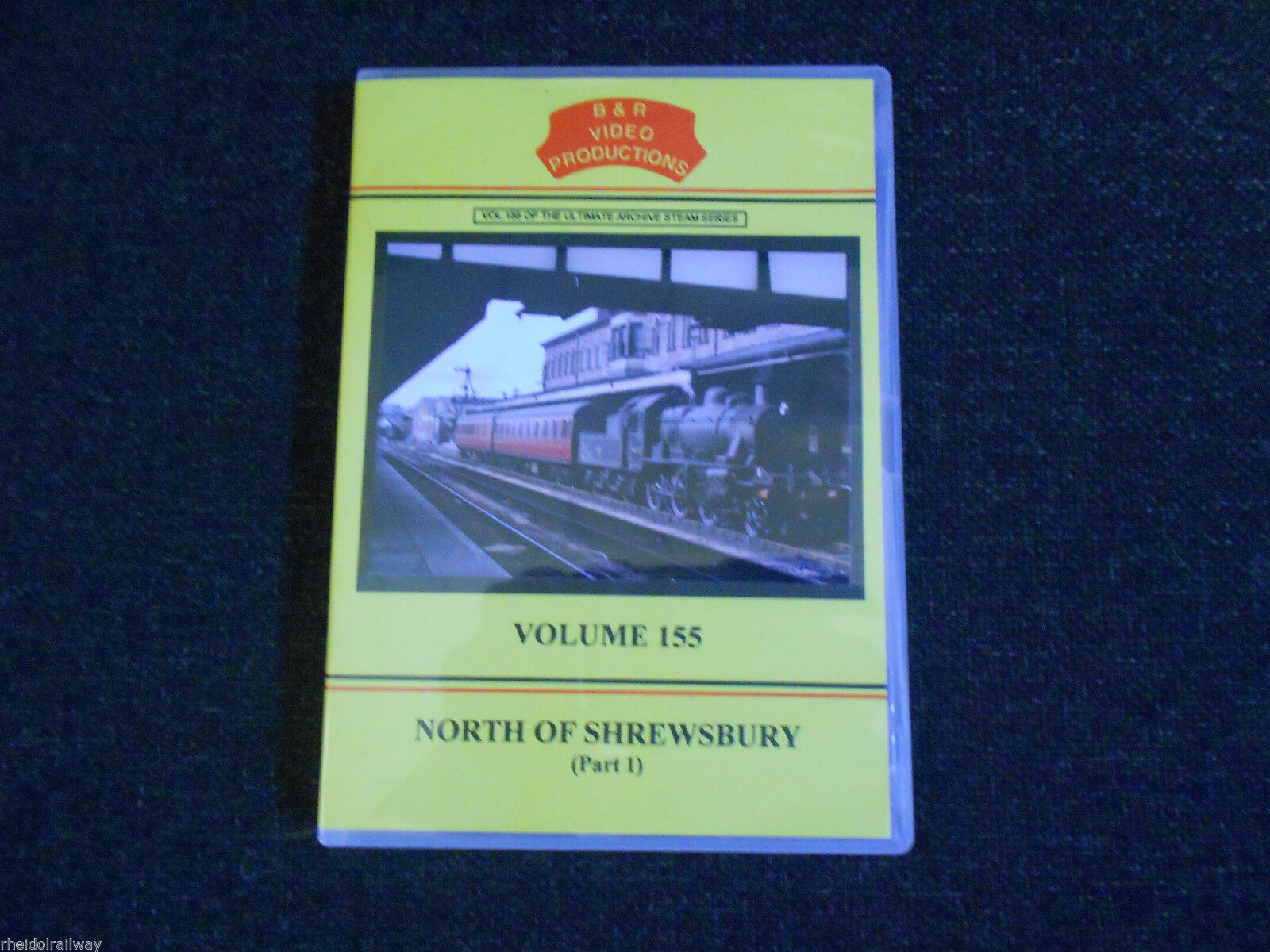 Shrewsbury, Chester, North Of Shrewsbury Part 1, B & R Volume 155 DVD