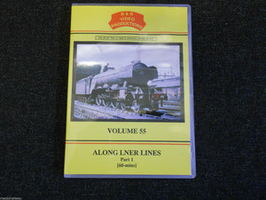 Kings Cross, Newcastle, Northumberland, Along LNER Lines Part 1 B&R Vol 55 DVD.