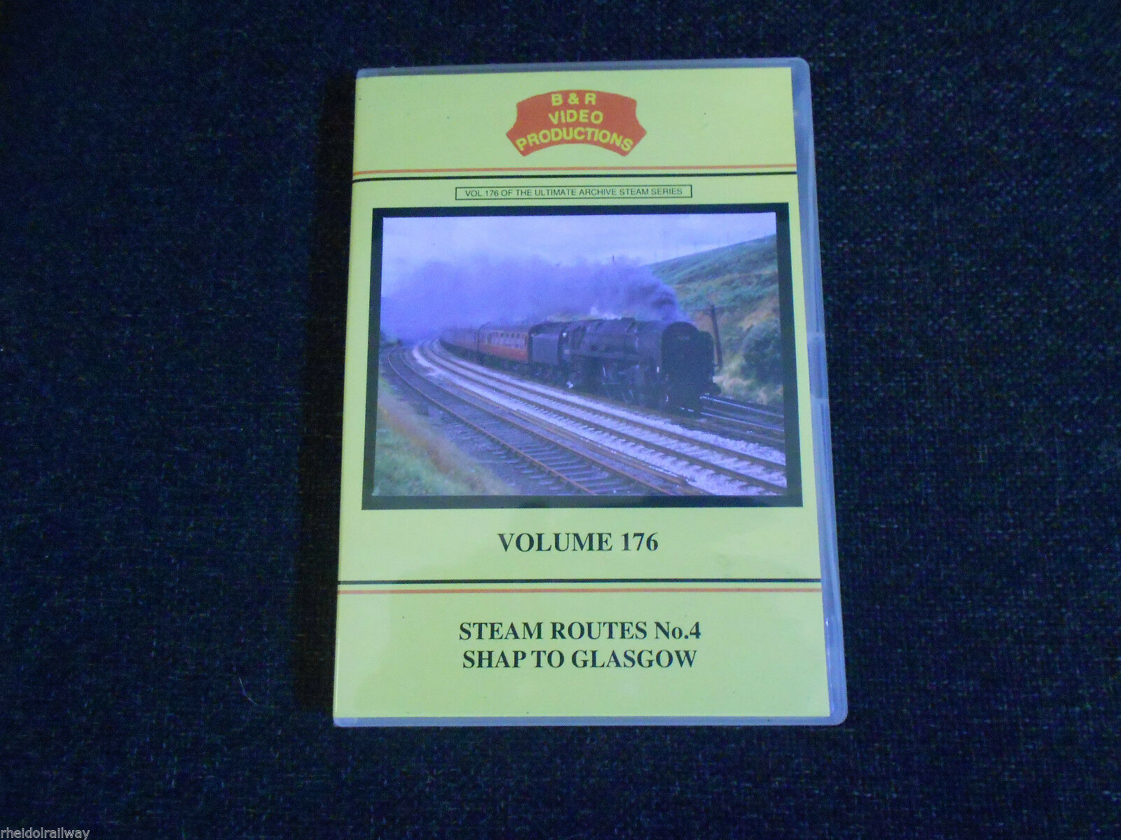 Shap, Glasgow, Steam Routes No.4 B & R Volume 176 DVD