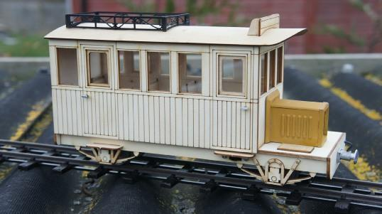 'colonial railbus' IP engineering  kit 32mm 45mm SM32 LGB garden railway