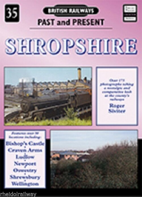 Shropshire, Past & Present ludlow Oswestry Shrewsbury Wellington Bishops Castle - The Vale of Rheidol Railway