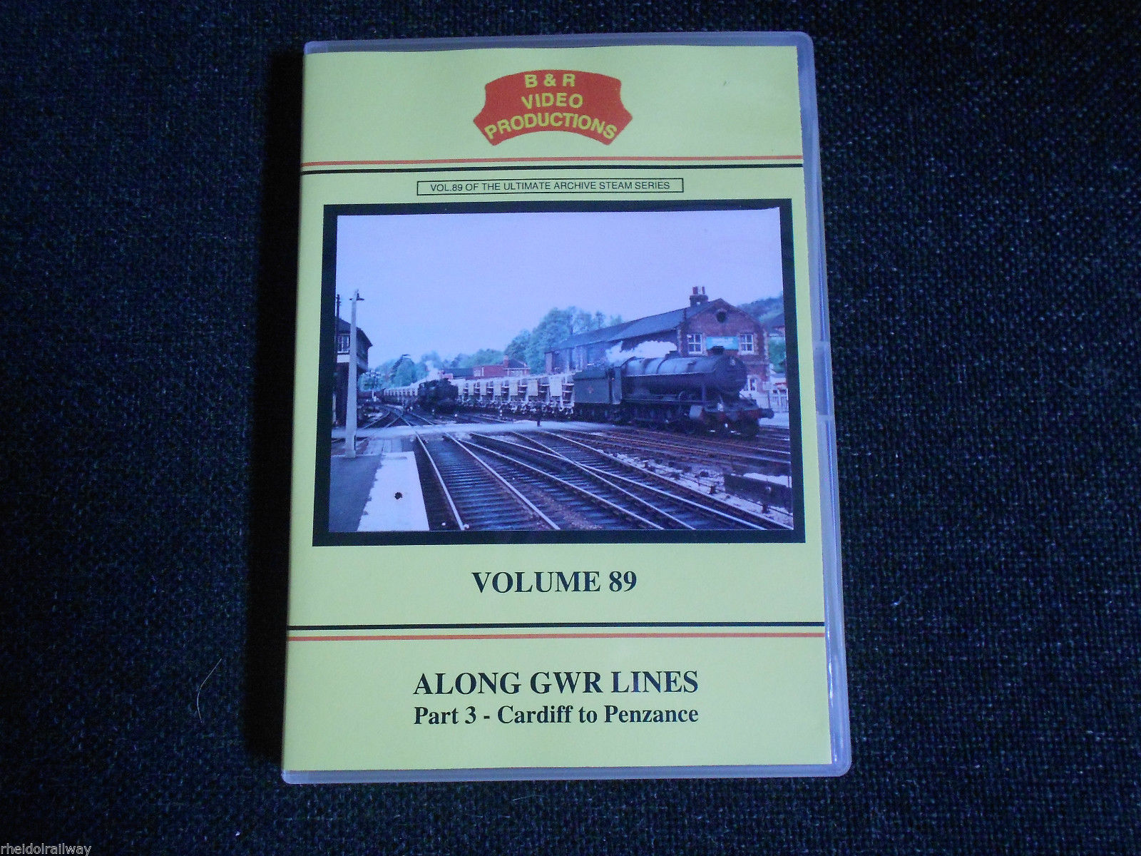 Cardiff,Penzance,Along GWR Lines Part 3 vol 89 DVD B&R Bristol Staple hill - The Vale of Rheidol Railway