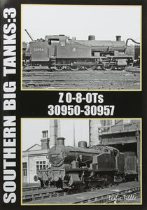 Southern railway big tanks 3 Z 0-8-0Ts  30950-30957 Exeter Central-St Davids