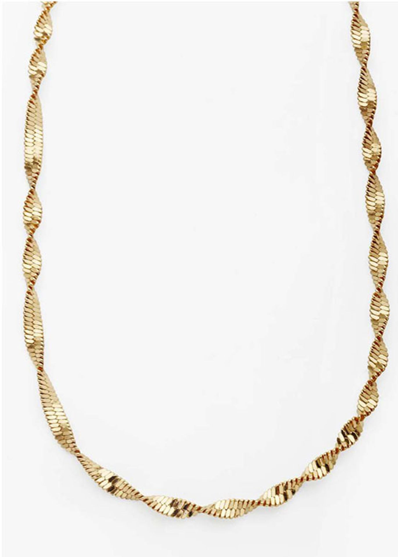 Juilette Twist 18K Gold Plated Necklace