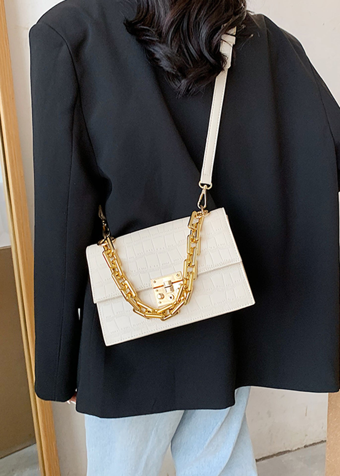 Sophie Chain Crossbody Bag
