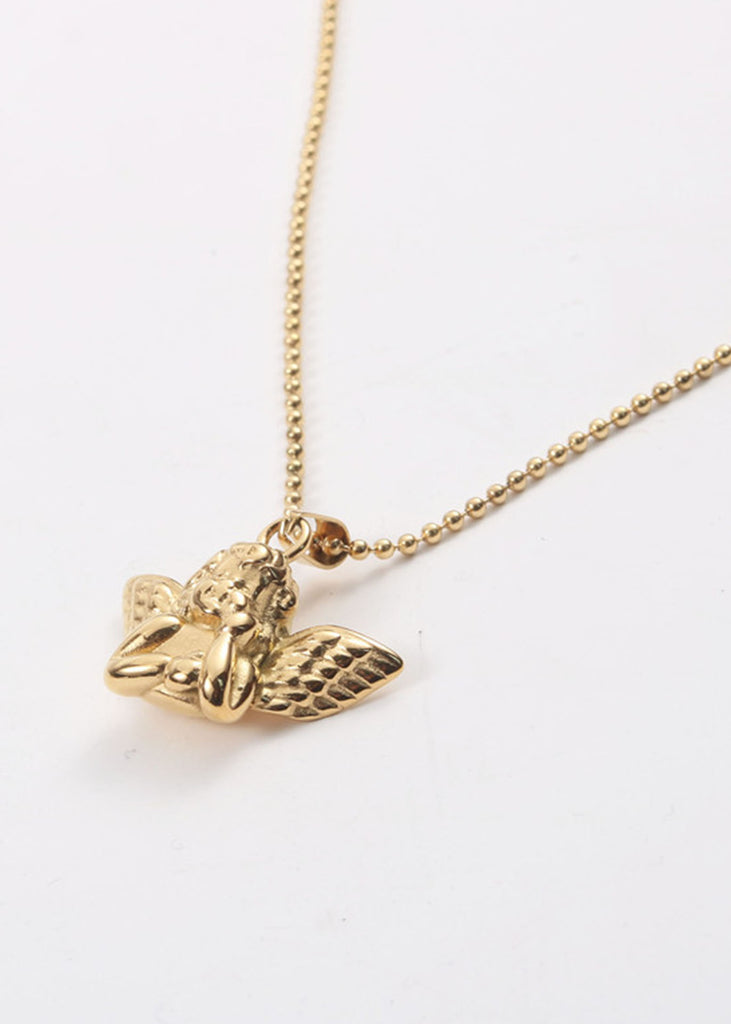 Eden 18K Gold Plated Angel Necklace