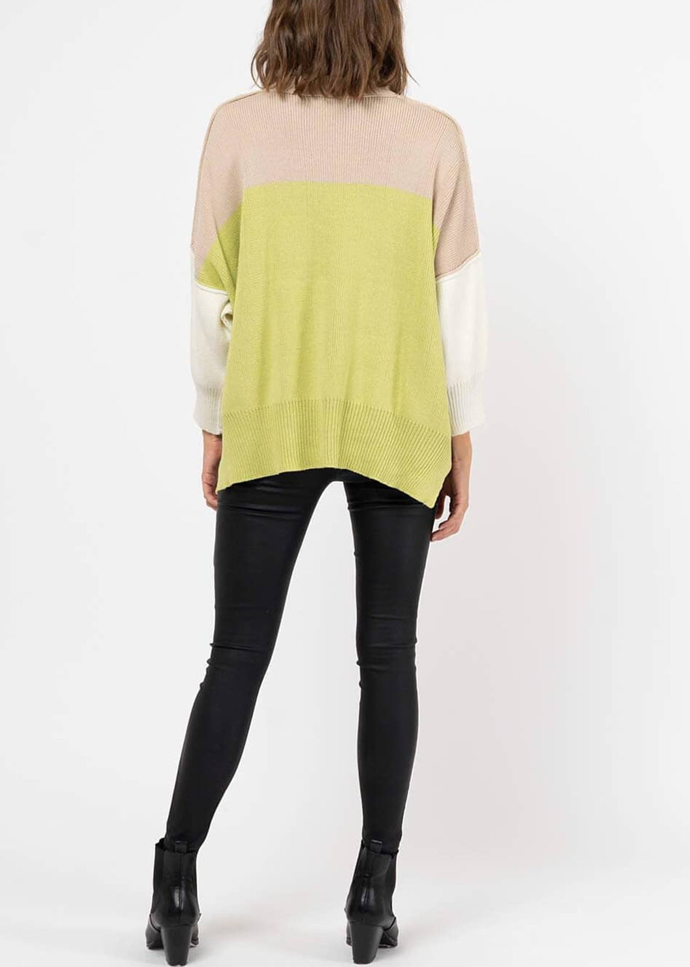 Mona Colourblock Jumper