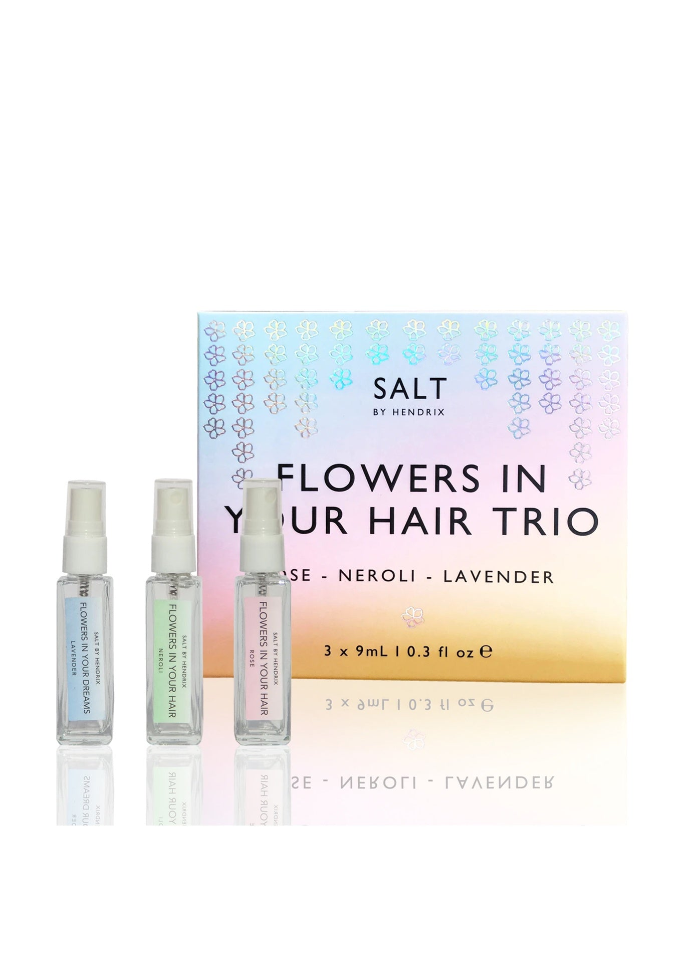 SALT BY HENDRIX Gift Set - Flowers In Your Hair Trio