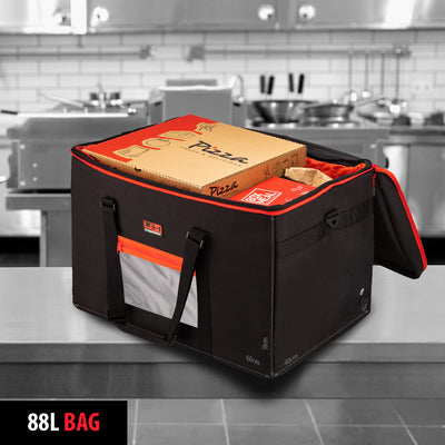 UltimateHeat Insulated Heated Takeaway Food Delivery Bag